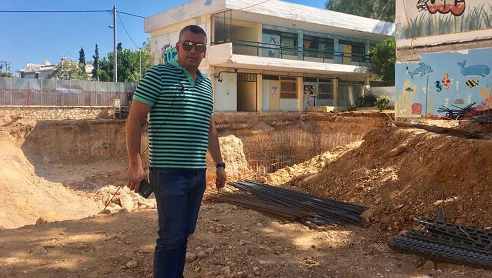 Έπεσαν τα πρώτα τσιμέντα της αίθουσας Πολλαπλών χρήσεων του Ελληνικού