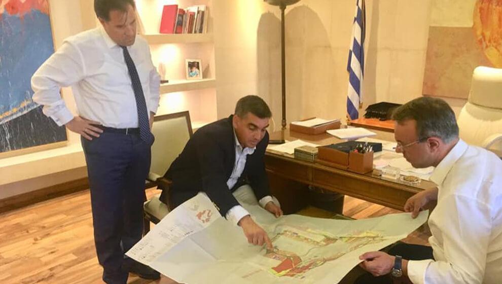 Συνάντηση Εργασίας για το Ελληνικό