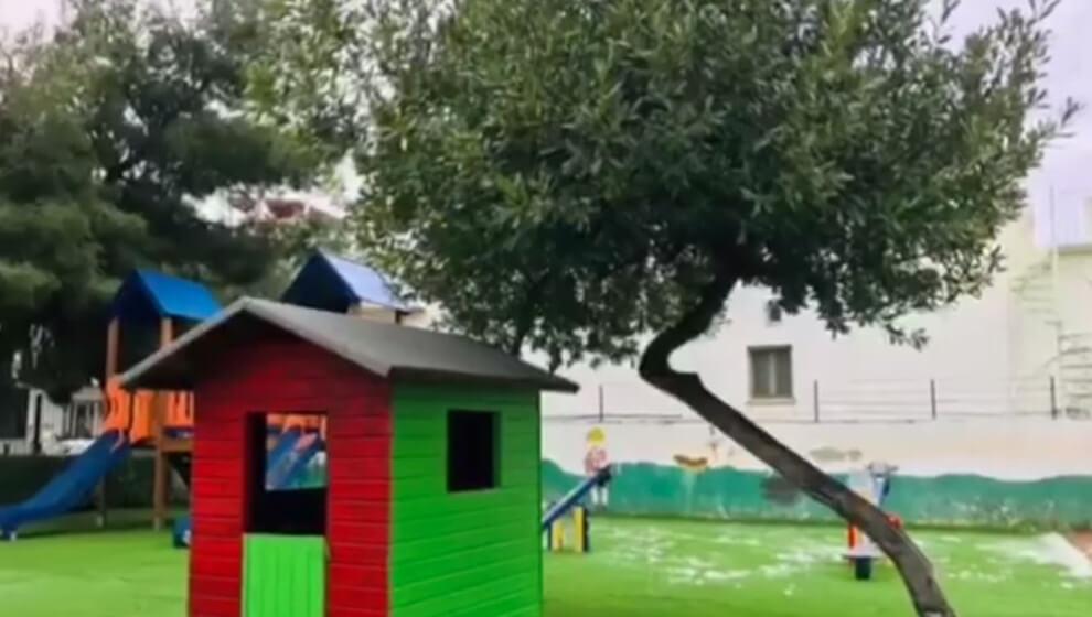 Ένα ακόμα προαύλιο νηπιαγωγείου παραδόθηκε ανακαινισμένο στο Ελληνικό
