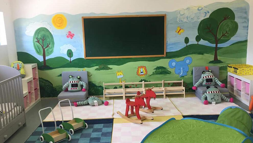 Ανακαίνιση των παιδικών σταθμών μας