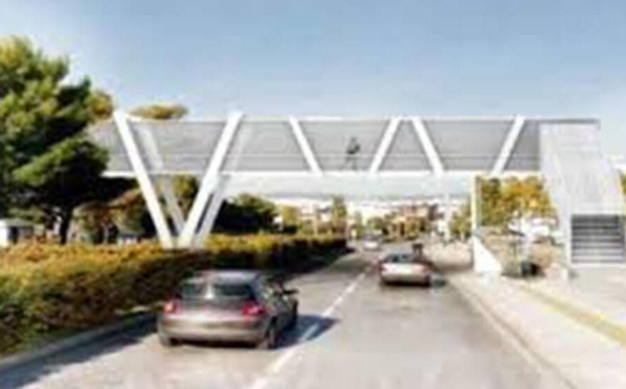 Δημιουργούμε πεζογέφυρα στο ύψος του κολυμβητηρίου Αργυρούπολης