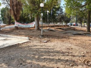 Μήνυμα Δημάρχου για τις εργασίες ανάπλασης της πλατείας στο Μετρό Αργυρούπολης