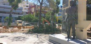 Μια ιστορική πλατεία της πόλης μας αλλάζει όψη