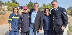 Τιμή στους πεσόντες πυροσβέστες