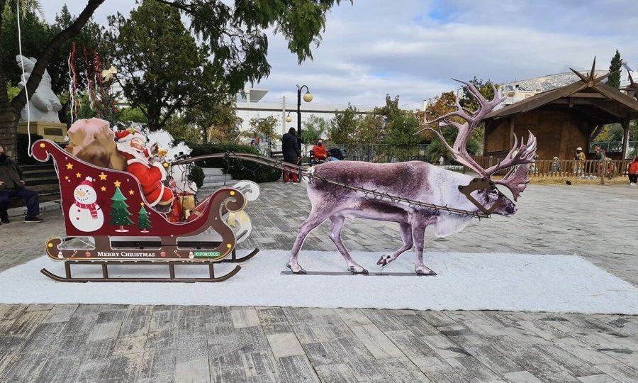 Άγιος Βασίλης προσγειώθηκε Ελληνικό Αργυρούπολη