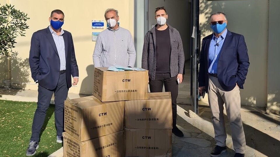 1ο χιλιάδες μάσκες εταιρεία Ζωντήρος