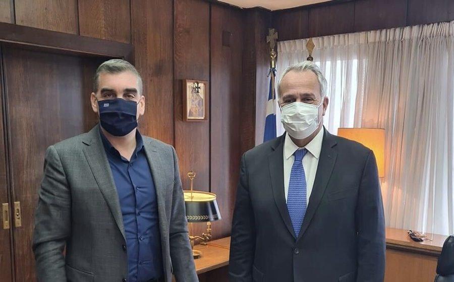 συνάντηση Υπουργό εσωτερικών Βορίδη Κωνσταντάτος