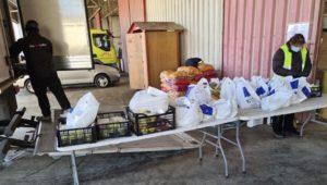 διανομή τροφίμων δικαιούχος προγράμματος