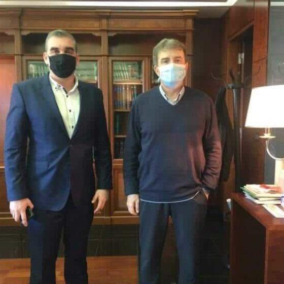 Συνάντηση Υπουργό Προστασίας Πολίτη Μιχάλη Χρυσοχοϊδη Γιάννης Κωνσταντάτος