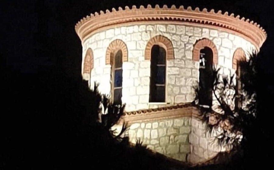 Φωταγωγήσαμε ιερΦωταγωγήσαμε ιερό ναό Μεταμόρφωσης του Σωτήρος Γιάννης Κωνσταντάτος