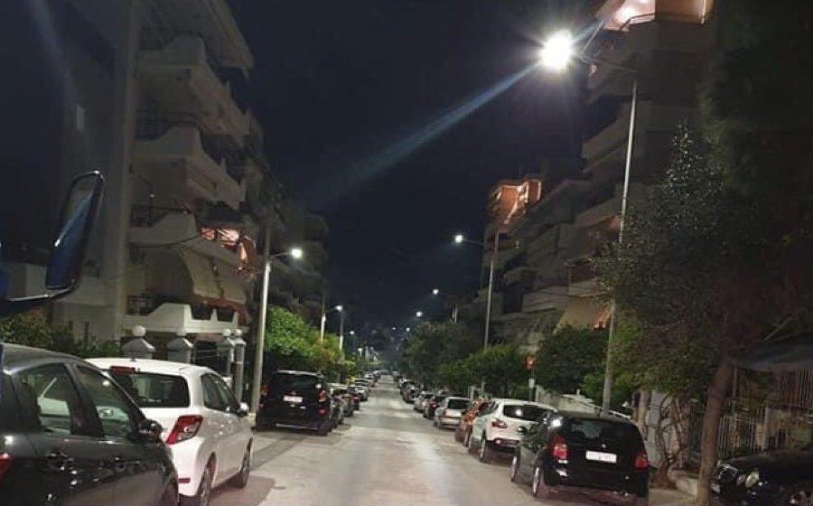 Αθανασίου Διάκου Αργυρούπολη νέο φωτισμό Γιάννης Κωνσταντάτος