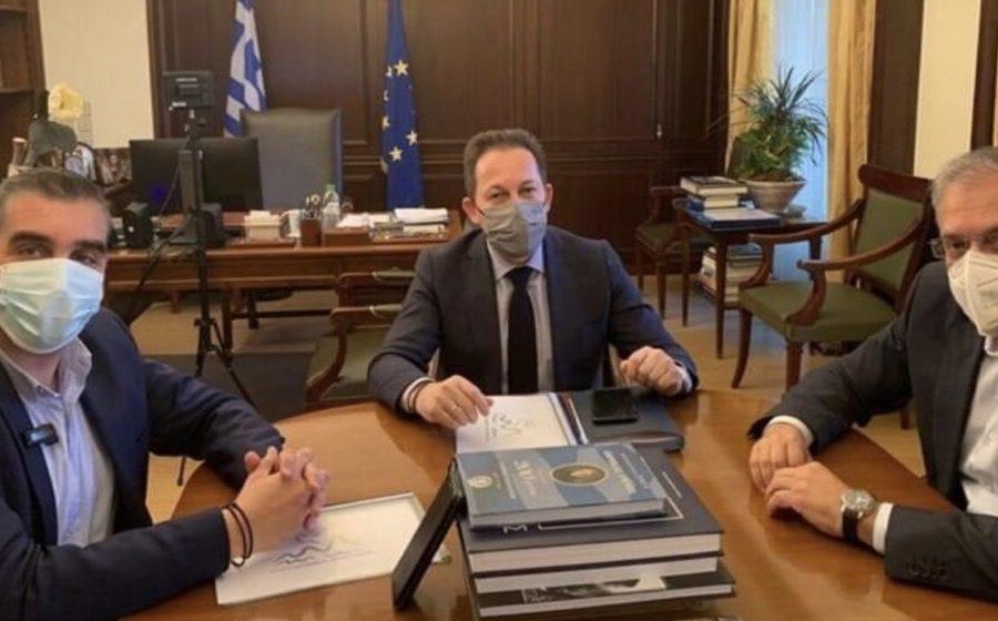 Συνάντηση εργασίας αν. υπουργό Πέτσα Θεοδωρικάκο