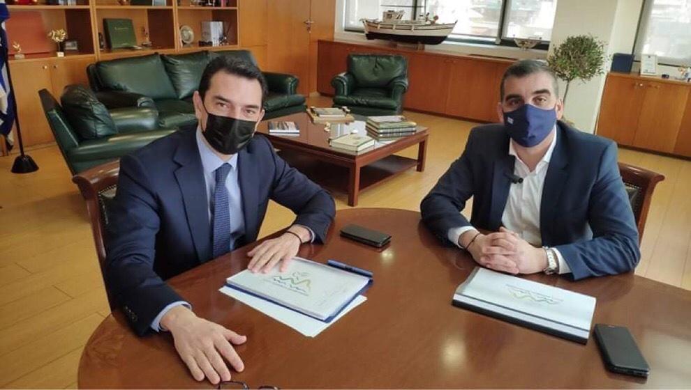 Συνάντηση Υπουργού Περιβάλλοντος Κώστα Σκρέκα